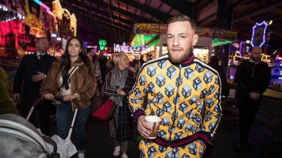 Conor McGregor abrió en exclusiva el parque de atracciones Winter...