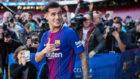 Coutinho, en su presentación con el Barça