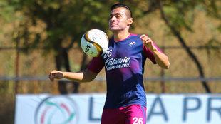 Aldo Rocha quiere su primera victoria en casa.
