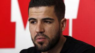 Álvaro Domínguez, en una entrevista en MARCA