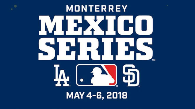 MLB - BeisbolLos Dodgers y los Padres jugarán una serie de temporada en  Monterrey 5ac3d66d5