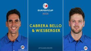 Rafa Cabrera (33) y Bern Wiesberger (32).