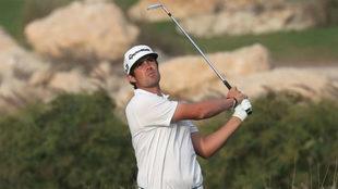 Nacho Elvira durante un torneo en Doha el año pasado.