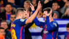 The Messi-Alba partnership continues to thrive