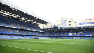 Imagen del actual Stamford Bridge.