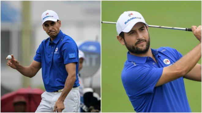 Rafa Cabrera (33) y Alex Levy (27).