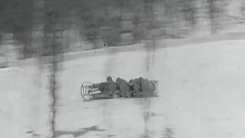 Bobsleigh en competición. 1938.