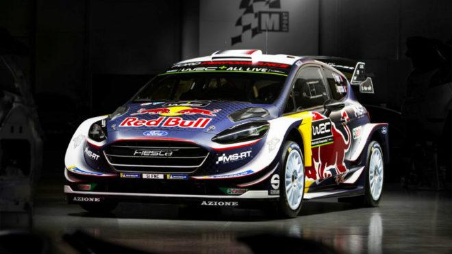 El coche de Ogier para el WRC 2018.