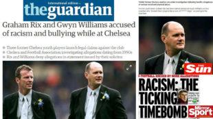 La prensa inglesa abrió sus portadas con la noticia del presunto...
