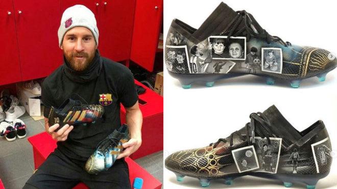 the of designer  Messi