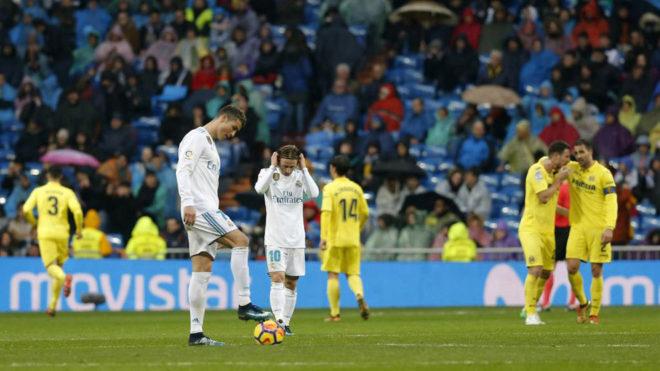 """""""Real"""" Chempionlar Ligasi uchun kurashda """"Villarreal""""ga yutqazib qo'ydi"""