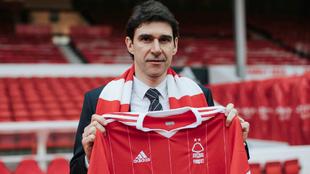 Karanka, en su presentación como técnico del Nottingham Forest.