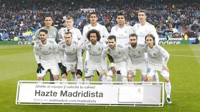 El once que salió de inicio en el partido ante el Villarreal-