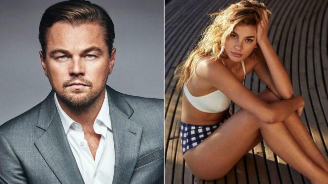 Leonardo DiCaprio y Camila Morrone