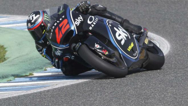 Pecco Bagnaia, en Moto2.