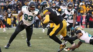 Los Steelers no pudieron en casa ante Jacksonville.