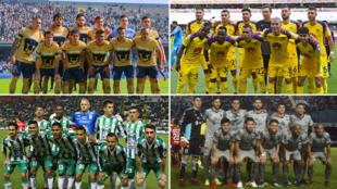 América, León, Pumas y Monterrey presumieron nuevo uniforme