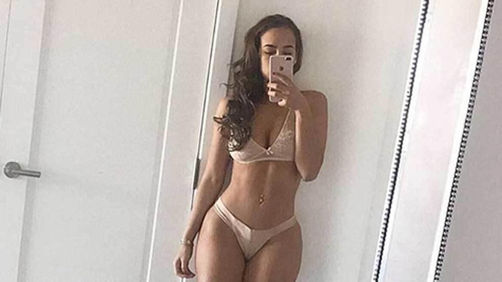 La modelo Verónica Valle, ex novia de Lewis Hamilton, ha concedido...