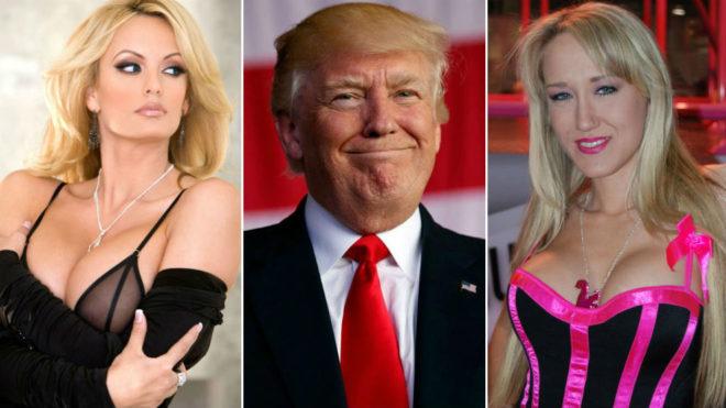 Stormy Daniels, Donald Trump y Alava Evans
