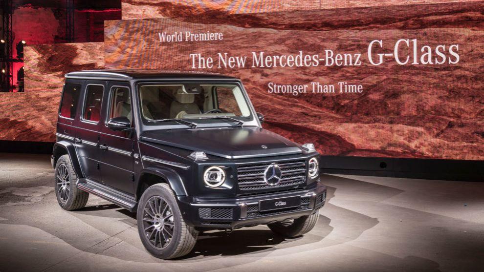 Mercedes Benz Clase G 2018 Sigue Siendo El Rey De Los Todoterreno Marca Com