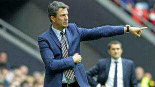 José González, el nuevo entrenador del Málaga CF