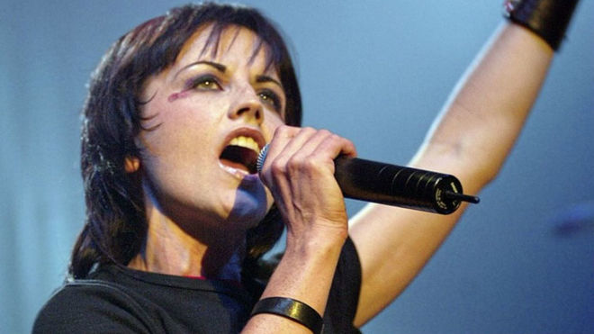 Dolores O`Riordan, cantante de The Cranberries