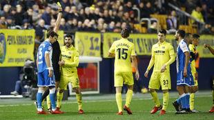 Imagen del Villarreal-Dépor que finalizó empate a uno