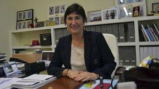 Marisol Casado, durante una entrevista en su despacho.
