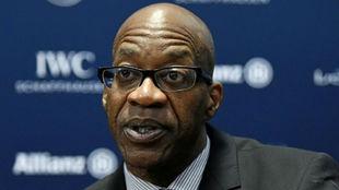 Edwin Moses, exatleta y máximo dirigente de la Agencia Antidopaje de...