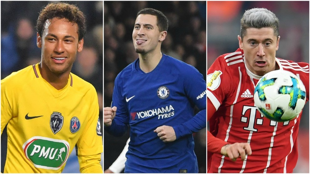 LaLiga - Real Madrid: Neymar, Hazard and Lewandowski: Real