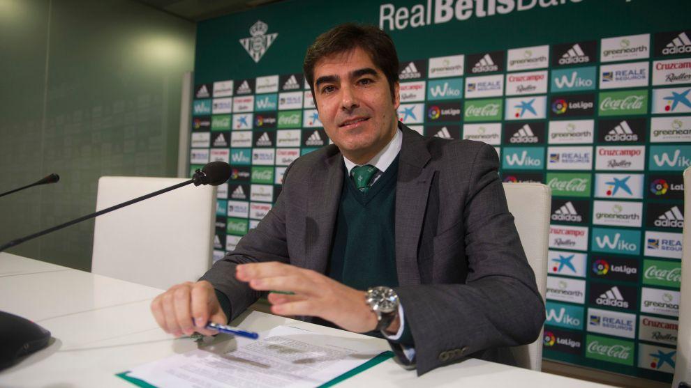 Ángel Haro, en rueda de prensa