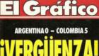 """""""Muere 'El Gráfico'... ¡llora por mí, Argentina!"""""""