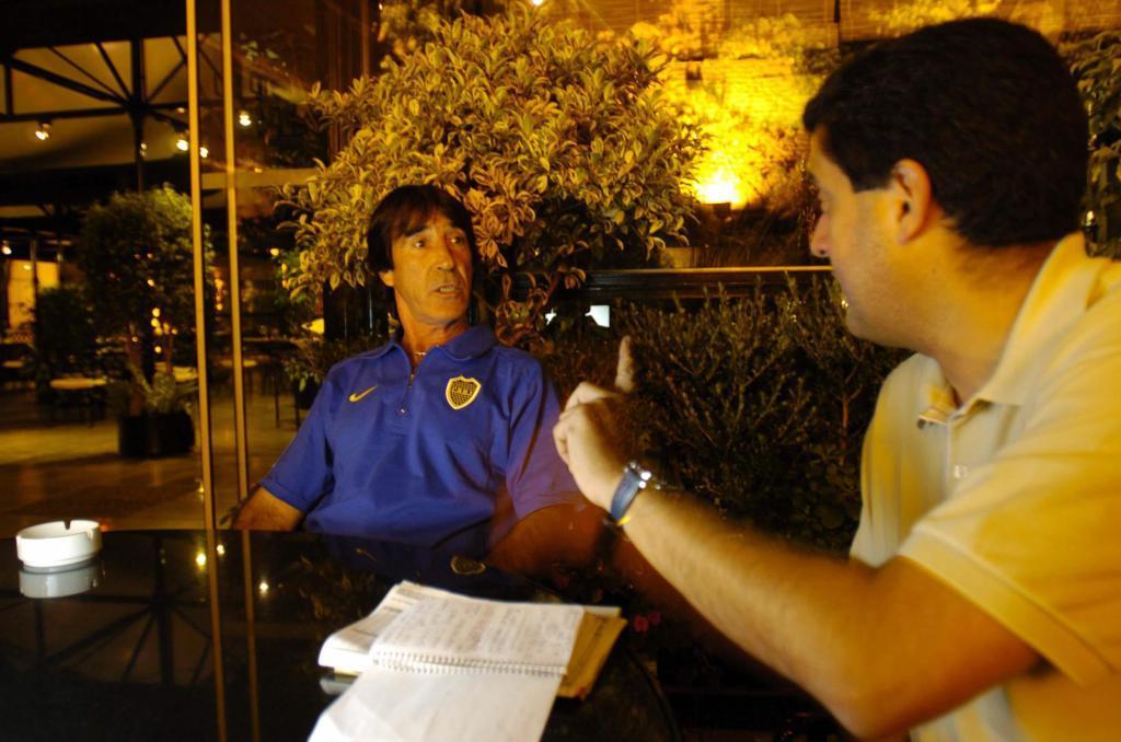 Panadero, entrevistado por Pablo Brotóns en Buenos Aires en 2006.