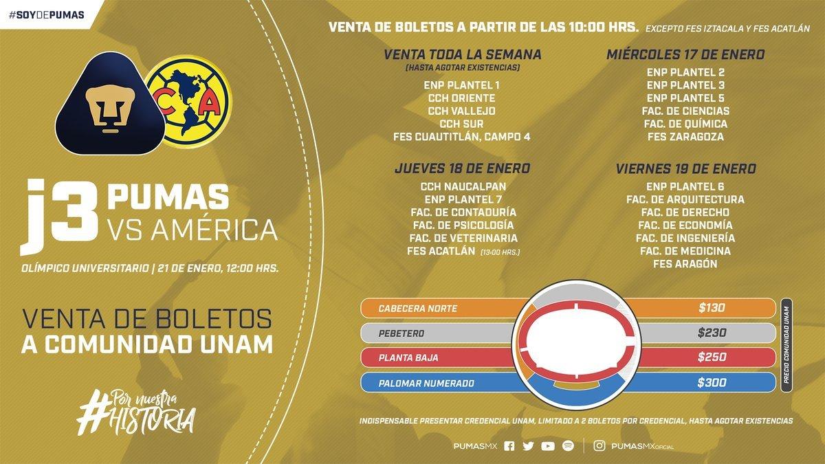 37d166105 Liga MX Apertura 2018: Boletos agotados para el Pumas vs América en .