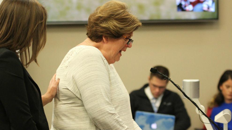 Donna Markham, durante su declaración.
