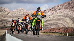 Las motos y los quads hoy sólo harán un enlace