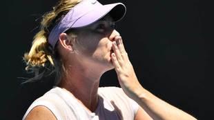 Maria Sharapova (30 años), una de las grandes sensaciones del Open de...