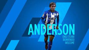 Anderson ha firmado por cuatro temporadas