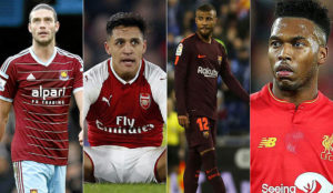 Transfer Centre LIVE:  Benteke, Lass, Aleix Vidal, Alexis Sanchez, Sturridge, Carroll...