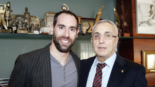 Ander Mirambell y Alejandro Blanco