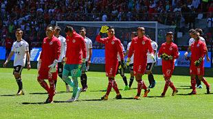 Toluca se midió al Atlas en la Bombonera en el Apertura 2017.