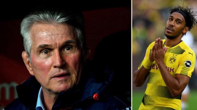 """Bundesliga: Heynckes critică atitudinea lui Aubameyang: """"Aș refuza să-l semnez"""""""