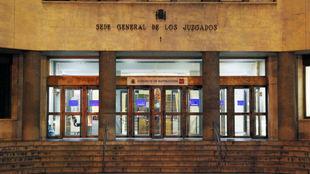 Juzgados de Instrucción en la madrileña Plaza de Castilla.