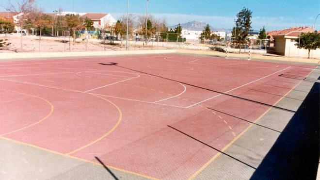 Imagen del Polideportivo de Tómbola en Alicante.