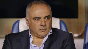 Vázquez terminó molesto por su segunda derrota en el torneo