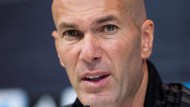 """Zidane lo tiene claro: """"¿Fichar en invierno? Nada, nada..."""""""