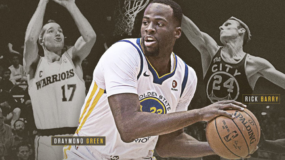 Draymond Green ya es historia en los Warriors