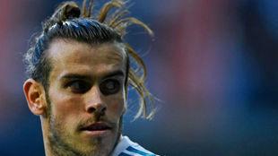 Bale, durante el partido ante el Deportivo.