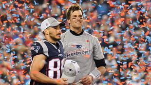 Los Patriots son campeones de la AFC.