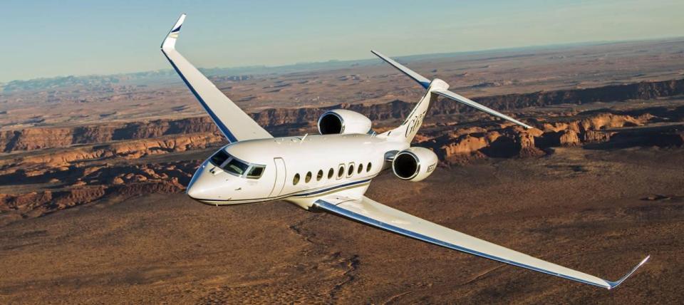 Top 1 aviones privados: Cristiano Ronaldo tiene un avión Gulfstream G650 valorado en 31,7 millones de euros